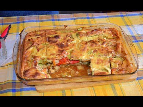(1) Επεισόδιο 25-Σουφλέ λαχανικών-Souffle vegetables - YouTube