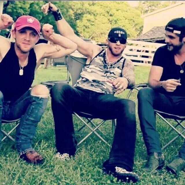 Behind the Scenes of Small Town Throwdown-Justin Moore & Brantley Gilbert & Thomas Rhett