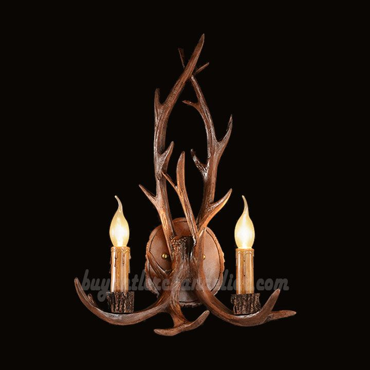 pixball wall lamp sconces com chandelier l lights next sconce antler
