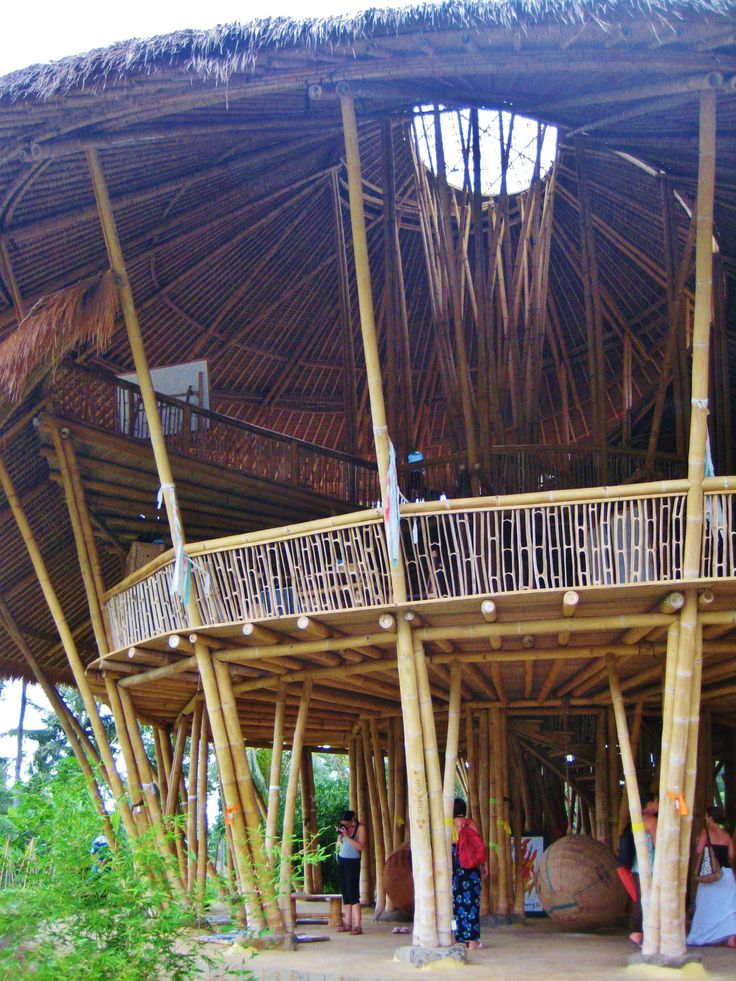The Green School, Bali, the whole campus made from