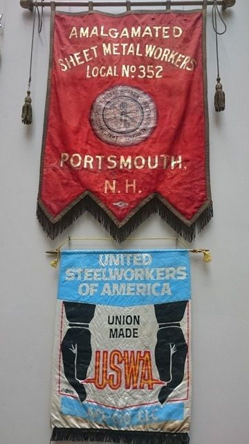 Sheetmetal Workers and Steelworkers: banners from our North American collection