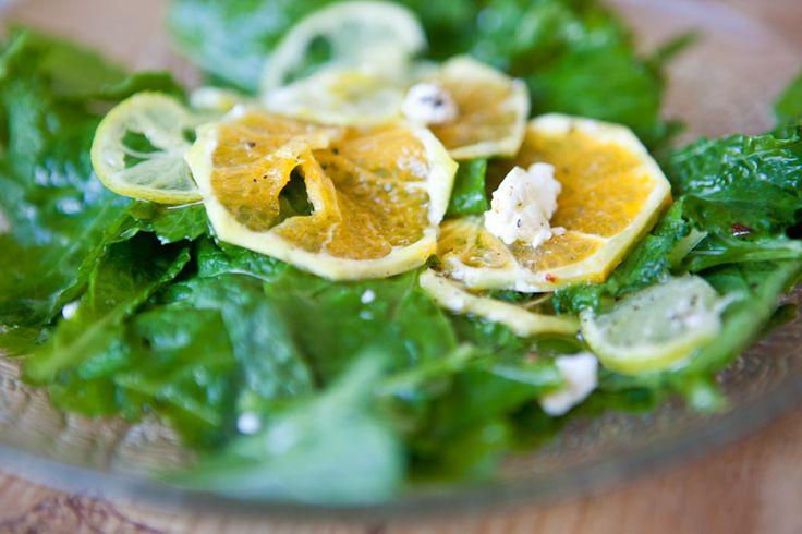 De Flexitariër: Pittige mosterdsla met gemarineerde sinaasappel