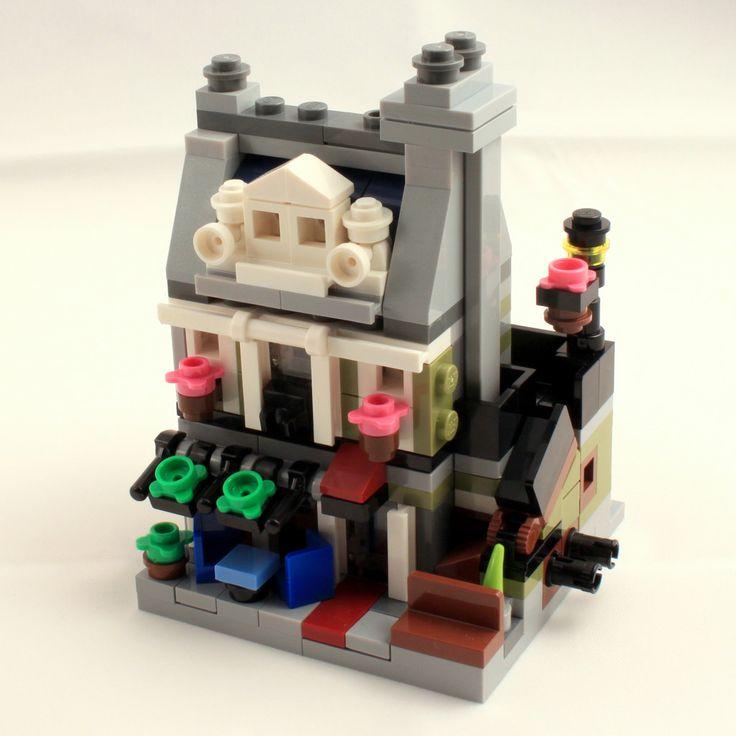 Parisian Restaurant Lego Mini Modular