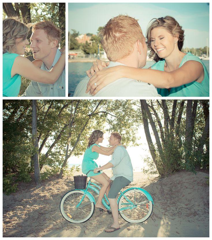 Adam & Amy Port Dalhousie Enagement Session » Allure Photography