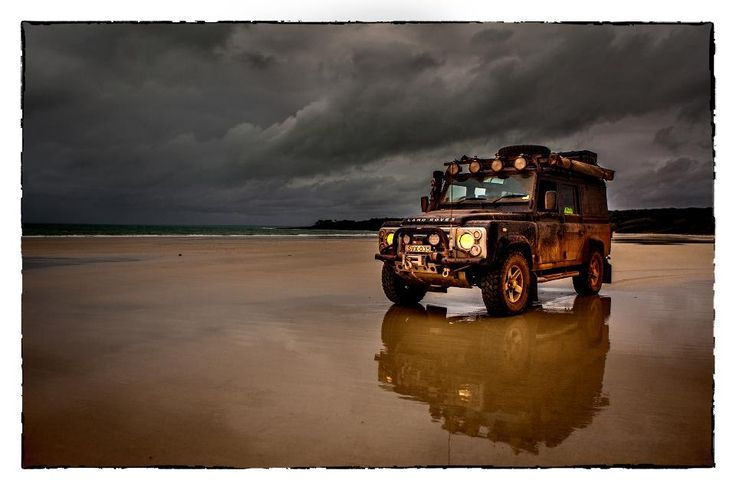 Promo shoot for Misadventure 4WD - Cape York. Land Rover Defender 110.