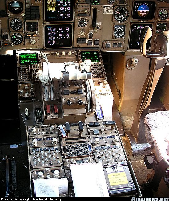 """cockpit of the famous """"Gimli Glider"""""""