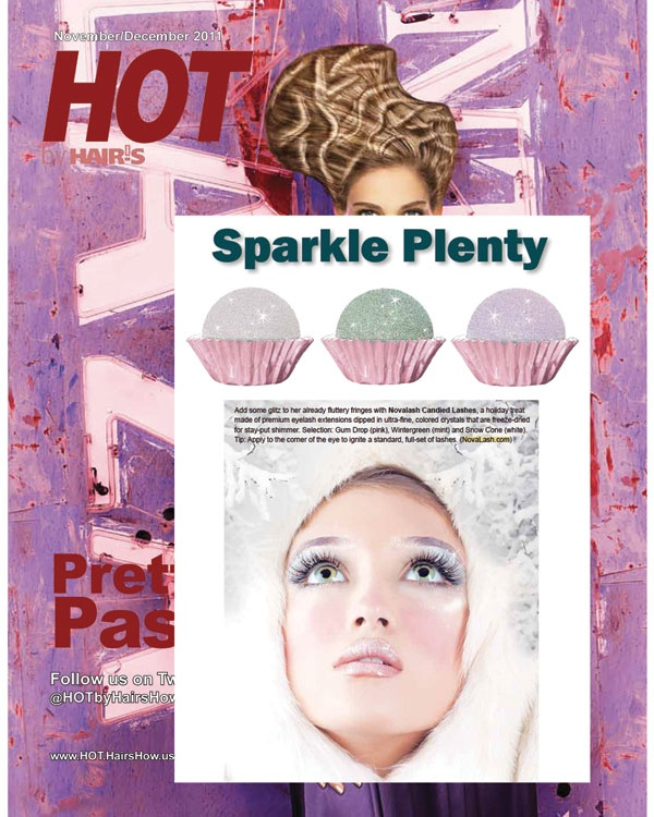 Sparkle Plenty with Candied Lashes | In the Media | Eyelash