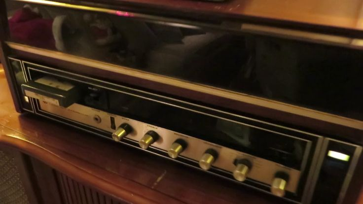 Music from Heaven, Lear Jet 8 Track, Hooked up to a 1959 Curtis Mathes S...