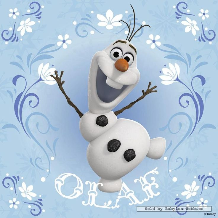 Olaf is a kind, sweet, and funny. Olaf is form the movie Frozen. Like he says some people are worth melting for