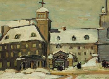 The seminary, Quebec by KATHLEEN MORRIS