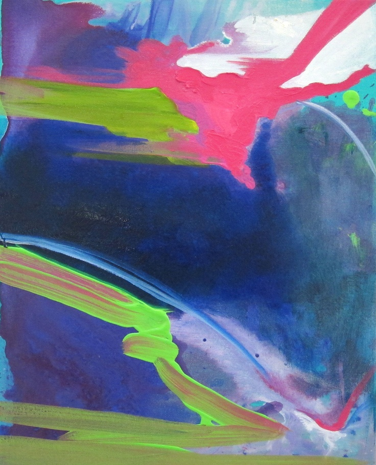 """FUG2"" by Katie Darby  acrylic and oil paint  website: katiedarby.net"