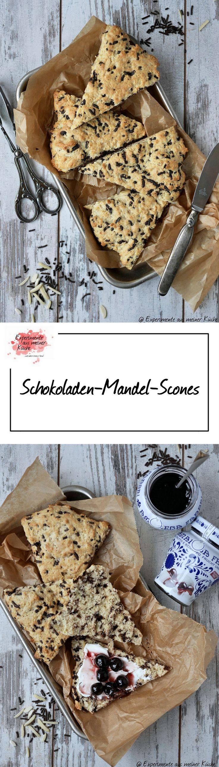 Experimente aus meiner Küche: Schokoladen-Mandel-Scones
