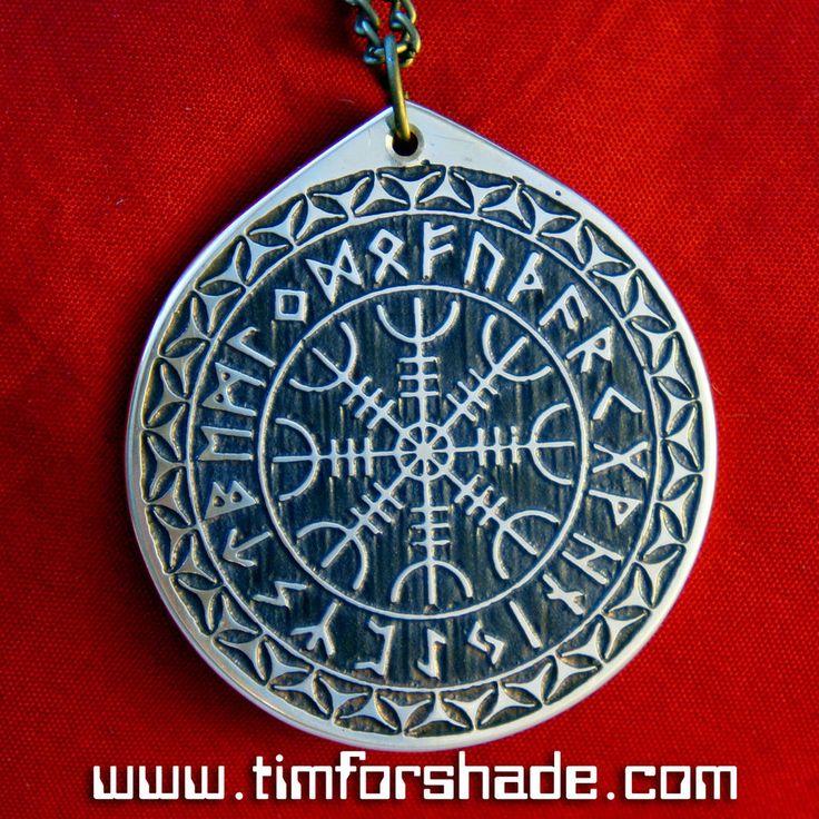 The Helm of Awe Rune Circle amulet pendant by TimforShade on DeviantArt