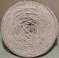 Пряжа для вязания крючком. Цвет: кофе с молоком.
