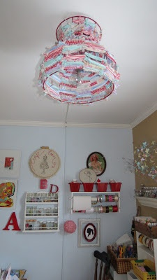 Best 25 fabric chandelier ideas on pinterest simple chandelier the simple craft diaries scrap fabric chandelier aloadofball Gallery