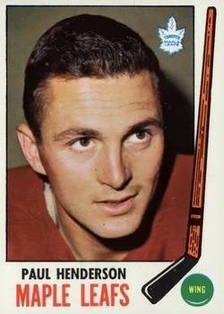 1969-70 Topps #47 Paul Henderson Front