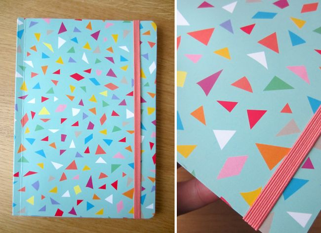 Pattern, notebook. Design Kajsa Nilsson. www.kajsanilsson.com