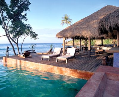 If you are looking for a secluded hotel with stylish accommodations and an amazing beach, check into Laluna in Grenada.