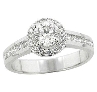14K Gold Fancy Diamond Ring    #ilovetoshop