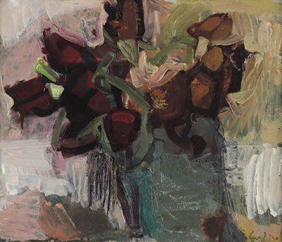romano lotto- vaso di fiori