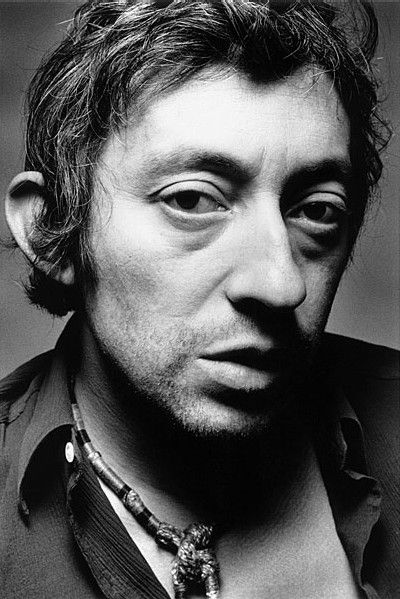 Jeanloup Sieff's portrait of Gainsbourg. Both legends, both dead. Both their style personalities shine in this portrait