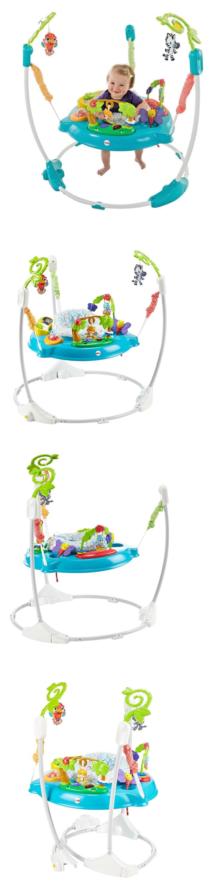 Baby Jumping Exercisers 117032: Fisher Price Shakira Musical Friends Jumperoo Baby Activity Bouncer Seat Jumper -> BUY IT NOW ONLY: $96.7 on eBay!