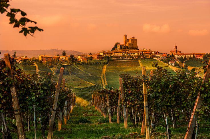 Serralunga d'Alba in Piedmont, Italy. ©Ola Cedell | 500px.com | #Piemonte #Italia #Piemont #Italien