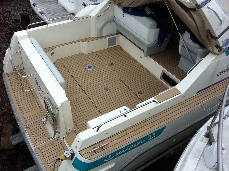 4 X8 Synthetic Board Pontoon Boat Vinyl Flooring In Canada