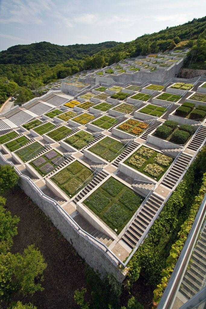 Awaji Island's Breathtaking Architecture - Hundred Step Garden (百段苑)
