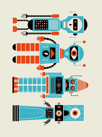 4 ROBOTS | Limited Edition Art Posters Archives - Page 5 of 11 - Methane Studios
