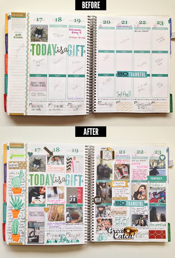 1 month left with my Erin Condren life planner + thoughts on planning in 2015 | Amanda Rose Zampelli