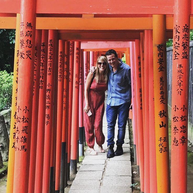 Jodie Sweetin & Scott Weinger In Japan