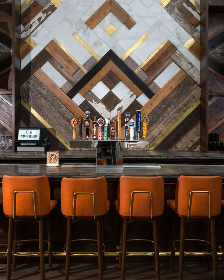 HOTEL BAR DECOR |Sheraton Austin At The Capitol | Studio 11 Design |  Bocadolobo.