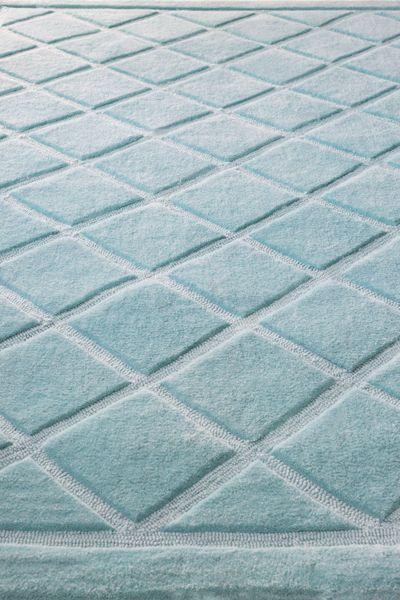 Cilek Diamond Teppich blue  ***Limited Edition *** Die Diamond - Teppichkollektion von Cilek kommt in vier wundervollen Farben daher. Das zeitlose Design im Rautenmuster übersteht die Schnelllebigkeit... #kinder #teppich #cilek