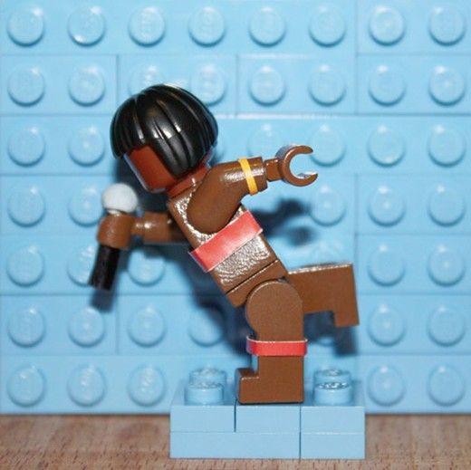 Lego album covers: Grace Jones, Island Life by Aaron Savage