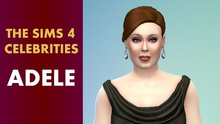 The Sims 4 Celebrities - Adele
