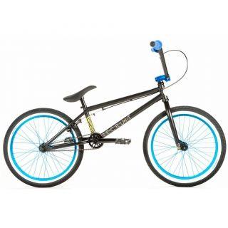 BMX Completa UNITED X ETNIES RECRUIT Negro/Azul 2014  En pocas palabras Retomando la base de la Recruit 2013, la bicicleta BMX UNITED X Etnies Recruit Negro/Azul 2014 cuenta con mejoras muy importantes con componentes reservados para la alta gama a un precio muy atractivo.