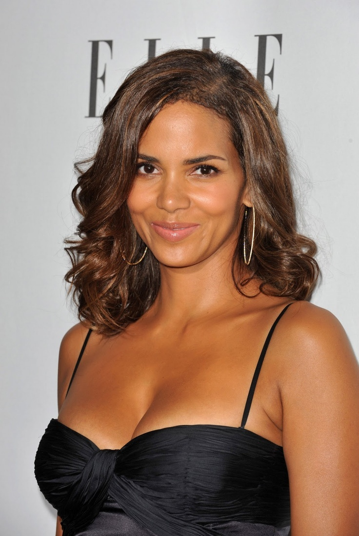 halle berry (hair color) | Hairstyles, Chignons, Updos ...