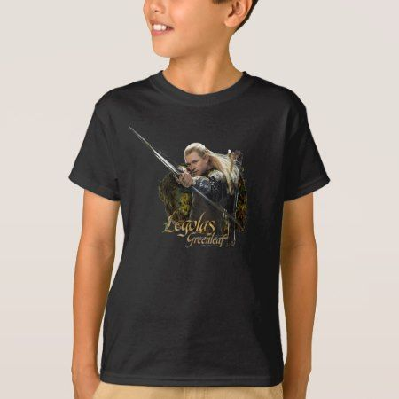 LEGOLAS GREENLEAF™ Drawing Bow Graphic T-Shirt - click/tap to personalize and buy