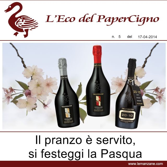 Papercigno by Le Manzane - Il pranzo � servito, si festeggi la Pasqua