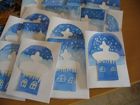 "Do church cutout with blue/white snow background.  Add bible verse Matthew 18:20 ""Where 2 or more are gathered..."" or ""O Come All Ye Faithful"", ... Christmas Craft. Sunday School Craft. Scripture Craft."