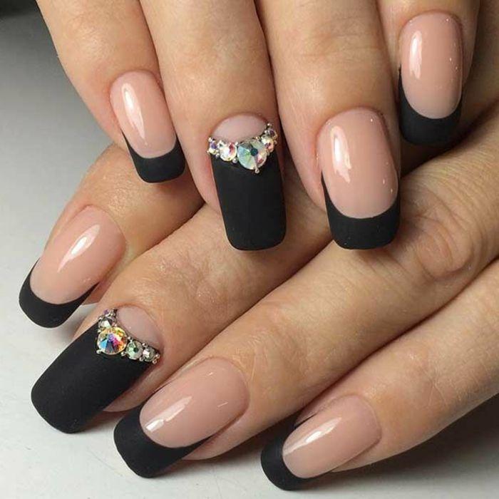 ▷ 1001 + ideas sobre uñas francesas decoradas 2018