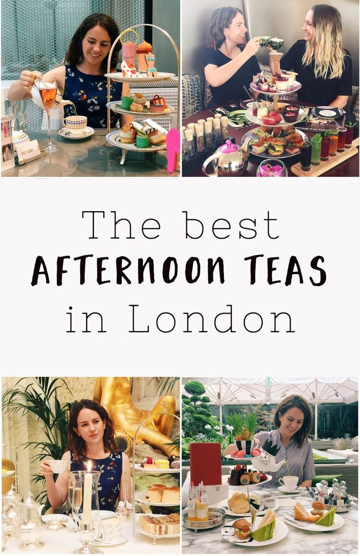 Best afternoon teas in London, England.