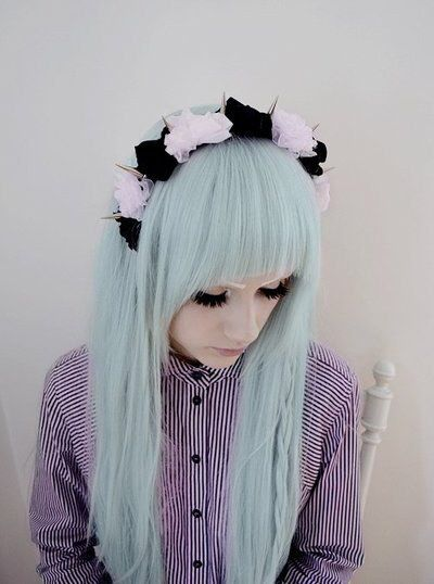 Everything soft and delicate should have a sharp, sort of dangerous edge. | How To Be A Pastel Goth