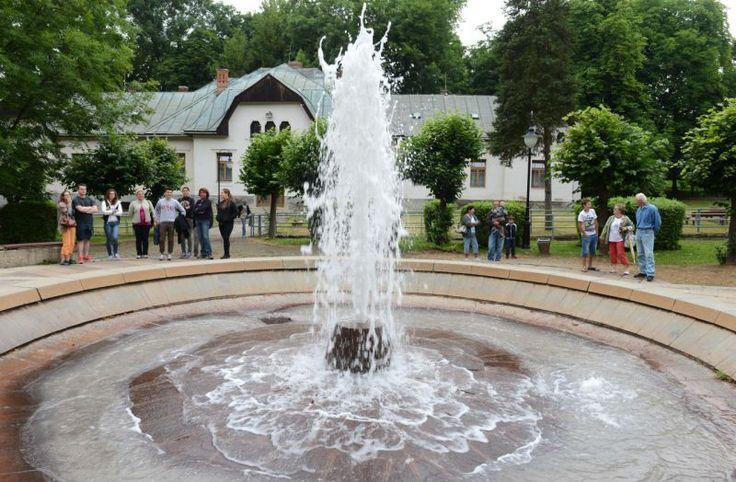 Herliansky gejzír sa nachádza pri západnom úpätí Slanského pohoria v Košickej kotline v obci Herľany. | Aktuality.sk