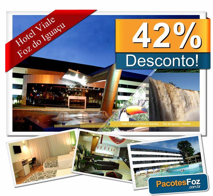 Hotel 4 estrelas em Foz do Iguaçu, 2 noites para 2 adultos + 2 Crianças + transporte ida e volta para Duty Free Shop na Argentina por R$ 449,00  Acesse http://www.pacotesfoz.com.br/ e aproveite essa e outras promoções exclusivas. E curta a nossa fanpage para receber mais novidades: https://www.facebook.com/pages/PacotesFoz/232694180173736?fref=ts