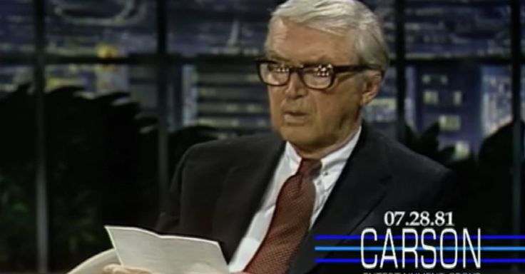 """Jimmy Stewart wrote a wonderful poem about his dog named Beau and recited it on """"The Tonight Show Starring Johnny Carson"""" in 1981."""