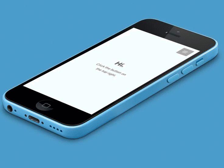 Responsive Navigation #ui #ux #design #responsive