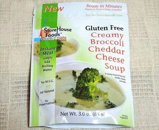 StoreHouse Foods グルテンフリー ブロッコリーチェダー インスタントスープ