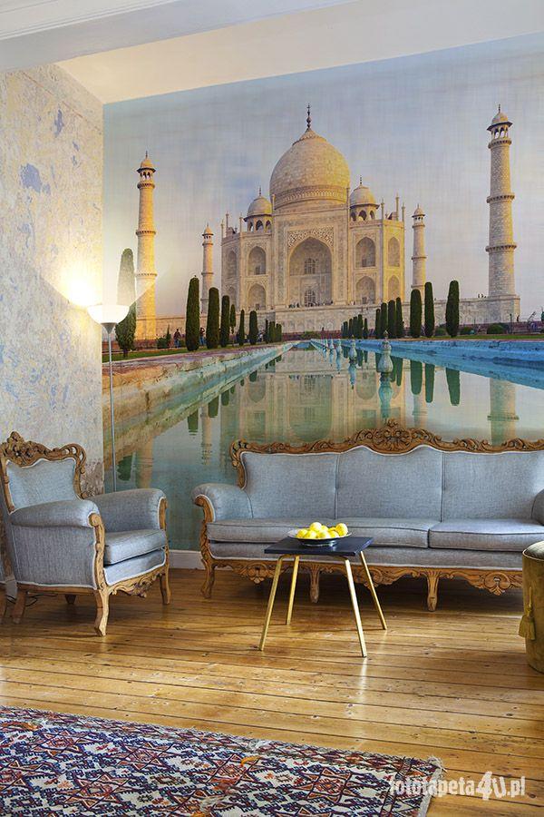 Taj Mahal wallpaper by Fototapeta4u.pl